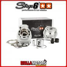 S6-7018820 Gruppo Termico 88cc Stage6 BigRacing, Corsa 45mm, Minarelli AM6 STAGE6 RT