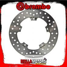 68B407J6 DISCO FRENO POSTERIORE BREMBO PIAGGIO X10 EXECUTIVE 2013- 125CC FISSO