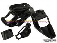 STR-990/BK SET CARENE STR8 4 PEZZI BOOSTER BWS COLORE NERO