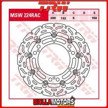 MSW224RAC DISCO FRENO ANTERIORE TRW Hyosung GV 650 2004- [FLOTTANTE - CON CONTOUR]