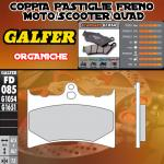 FD085G1054 PASTIGLIE FRENO GALFER ORGANICHE ANTERIORI RIEJU EVASION 09-