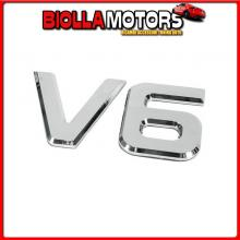 98120 LAMPA EMBLEMI MOTORE 3D CROMATI - 92X165 MM - V6
