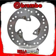68B407G1 DISCO FRENO POSTERIORE BREMBO MBK SKYLINER 2002-2010 125CC FISSO