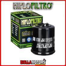 HF183 FILTRO OLIO MALAGUTI 125 Madison 3 (Piaggio Engine) 2006-2011 125CC HIFLO