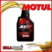 104137 1 LITRO OLIO MOTUL 300V FACTORY LINE OFF ROAD 15W60 100% SINTETICO PER MOTORI 4T