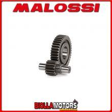 6711079 MALOSSI GILERA RUNNER FX 125 2T LC SECONDARY GEAR HTQ z 15/41 (A PRESSURE-Ø 17)