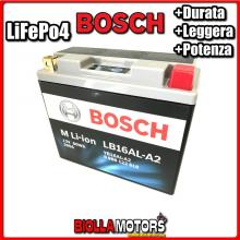 LB16AL-A2 BATTERIA LITIO BOSCH YB16AL-A2 LifePo4 0986122618 YB16ALA2 MOTO SCOOTER QUAD CROSS