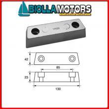 5120129 ANODO MOTORE VOLVO Barra Lunga Volvo Duo Prop
