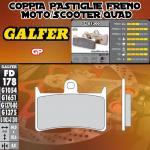 FD178G1300 PASTIGLIE FRENO GALFER GP ANTERIORI YAMAHA XP 500 T-MAX ABS 08-