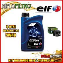 KIT TAGLIANDO 5LT OLIO ELF MAXI CITY 5W40 BMW K1600 GT K48 1600CC 2011-2016 + FILTRO OLIO HF164
