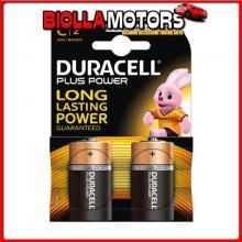 DC4023215 DURACELL DURACELL PLUS POWER, MEZZA TORCIA ?C?, 2 PZ