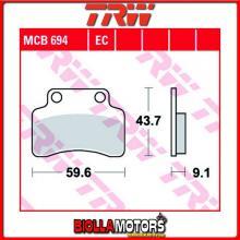 MCB694EC PASTIGLIE FRENO ANTERIORE TRW Peugeot e- Vivacity 2010- [ORGANICA- EC]