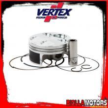 22812B PISTONE VERTEX 76,95mm 4T HC FANTIC MOTOR TF250 ES Compr 13,5:1 - 2 RINGS 2012-2014 250cc (set segmenti)