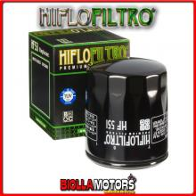 HF551 FILTRO OLIO MOTO GUZZI 850 Breva 2006-2011 850CC HIFLO
