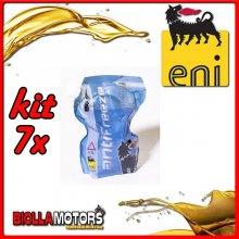 KIT 7X LITRO LIQUIDO RADIATORE ENI ANTIFREEZE READY - 7x E161172