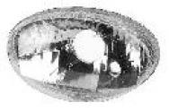 F 72 GRUPPO OTTICO OVALE (100X170) ADATTABILE AI FARI ANTERIORI