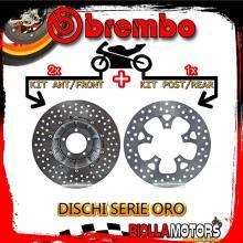 BRDISC-4108 KIT DISCHI FRENO BREMBO KTM SUPER DUKE GT 2016- 1290CC [ANTERIORE+POSTERIORE] [FLOTTANTE/FISSO]