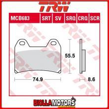 MCB683 PASTIGLIE FRENO ANTERIORE TRW MUZ MZ 1000 S 2001-2002 [ORGANICA- ]