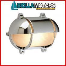 2147242 PLAFONIERA OVAL SHIELD 245X172 OTTONE CR Lampade Tartaruga Ovali OC Shield