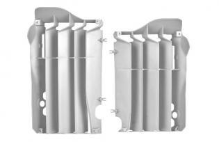 P8456300001 GRIGLIE PROTEZIONE RADIATORE BIANCHI HONDA CRF 250 R 2010-2013