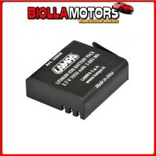 38868 LAMPA BATTERIA PER ACTION CAMERA