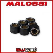 6611531. H0 rodillos MALOSSI KIT 6 x 13.7 12 GR.