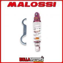 467588 AMMORTIZZATORE POSTERIORE MALOSSI RS24 HSC SC 01 L 50 (AF18E) , INTERASSE 267 MM -