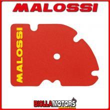 1413811 SPUGNA FILTRO RED SPONGE MALOSSI PIAGGIO MP3 125 4T LC euro 3 (LEADER)