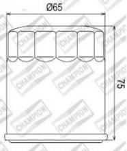 100609665 COF056 FILTRO OLIO KTM 660 Rally E Fabbrica Replicaprimo filtro 06-07 (F303)