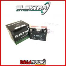 246610090 BATTERIA ELEKTRA YTX9-BS SIGILLATA CON ACIDO YTX9BS MOTO SCOOTER QUAD CROSS